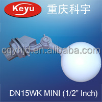 MINI Ball 1/2 inch Small Plastic Mechanical Water Tank Float <strong>Valve</strong>