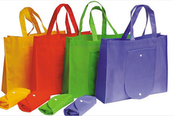 Cheap Custom Colorful Non Woven Foldable Shopping Tote Bag