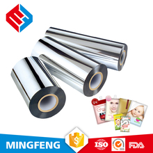 High moisture barrier property VMCPE food grade plastic film roll for machining