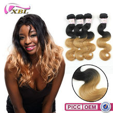 XBL Ombre Human Hair Body Wave 7A100% Indian Remy Human Hair Extension