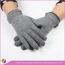 2016 Women dress warm lined classical Best selling Short style wool gloves