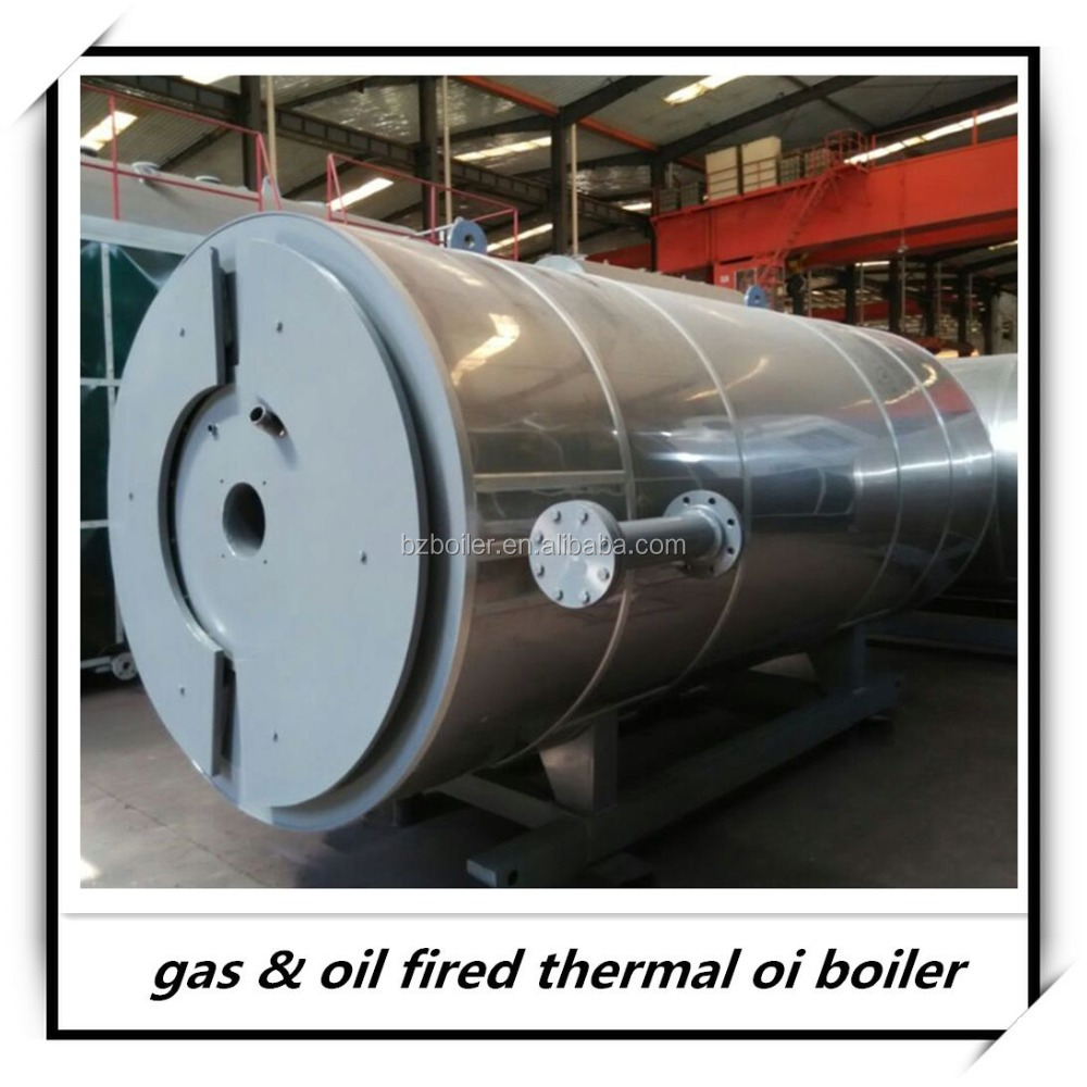 Hot sale horizontal thermal hot oil fluid heater boiler