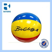 cheap OEM sports inflatable beach ball sitting/ PVC ball