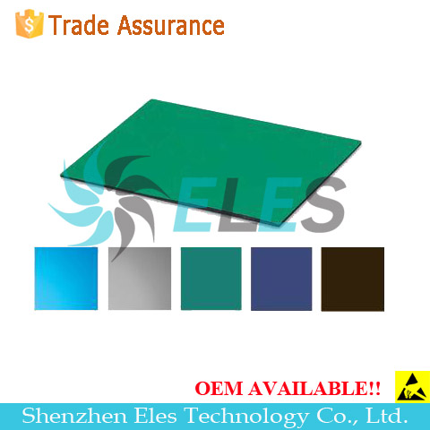 Gray color antistatic rubber mats