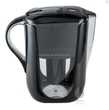100% chlorine free PH and ORP alkaline water filter pitcher