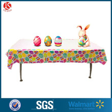 2016 hot-sale decorative Disposable easter egg design table cloth