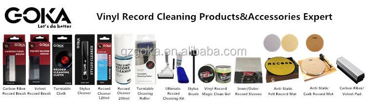 manual Deep Groove Record Washer System