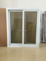 Wholesale cheap pvc sliding window price for house