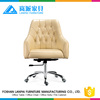 Special designer leather 360 free rotating swivel fixed armrest manager office desk chair P20