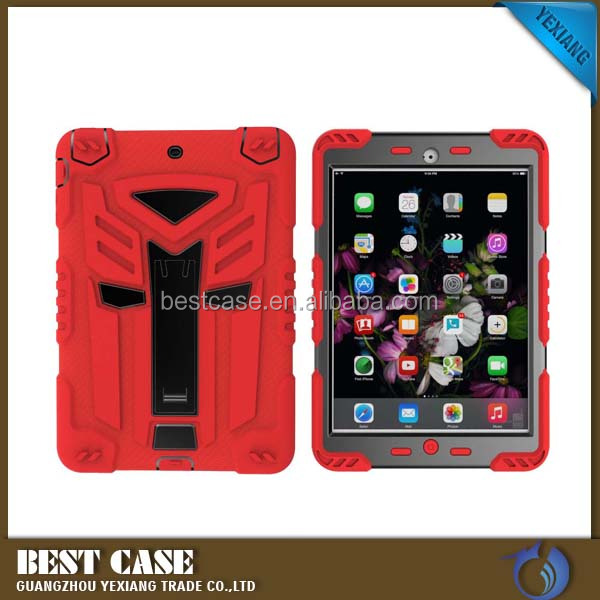 NEW For IPAD PRO 9.7 Armor CASE Heavy Duty Hybrid Rugged 3 in 1 case cover for ipad pro 9.7 inch