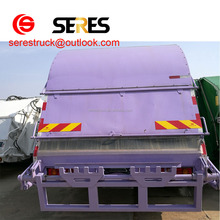 China 160 HP 5T 4*2 mini hook arm garbage truck for sale