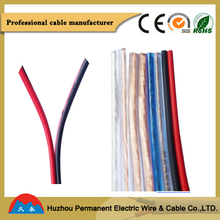 colorful 2 core parallel cable and fiber optic cable prices for audio with oem company list