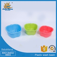 Factory sale various plastic product deep plastic foot basin