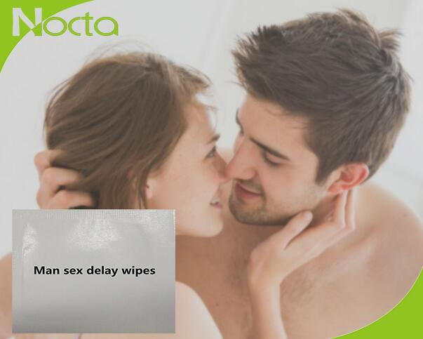 Custom delay ejaculation tissues for man