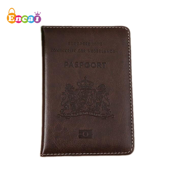 Encai Netherlands OEM Passport Cover Travel Colorful Customized Passport Holder