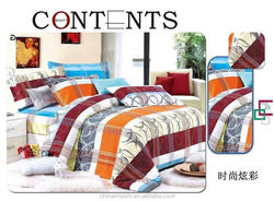 Wholesale cheap microfiber bedsheet set/ duvet cover set