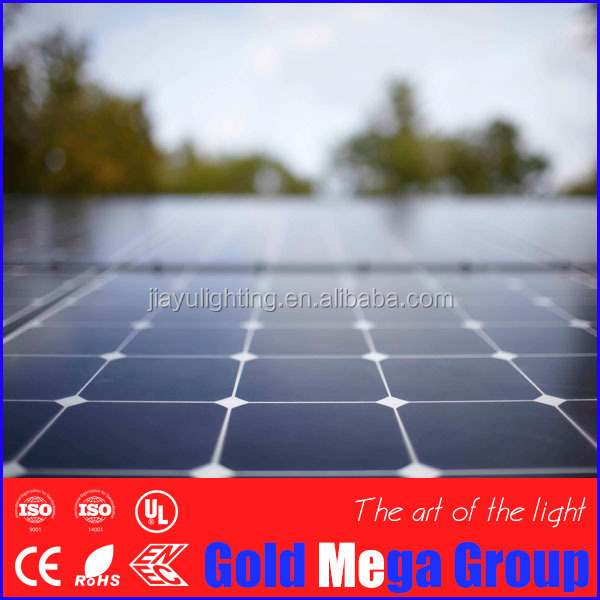 Economical high efficiency 5 watt to 300 watt A grade solar panel price list