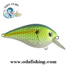 60mm/70mm Shallow Diving Crank Bait Square Bill Crankbait For Bass Fishing