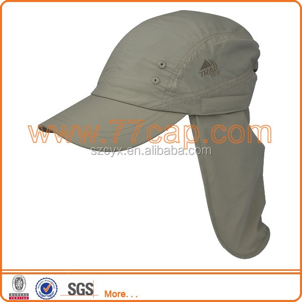 Outdoor sports breathable polyester cap ear cover neck flap hat