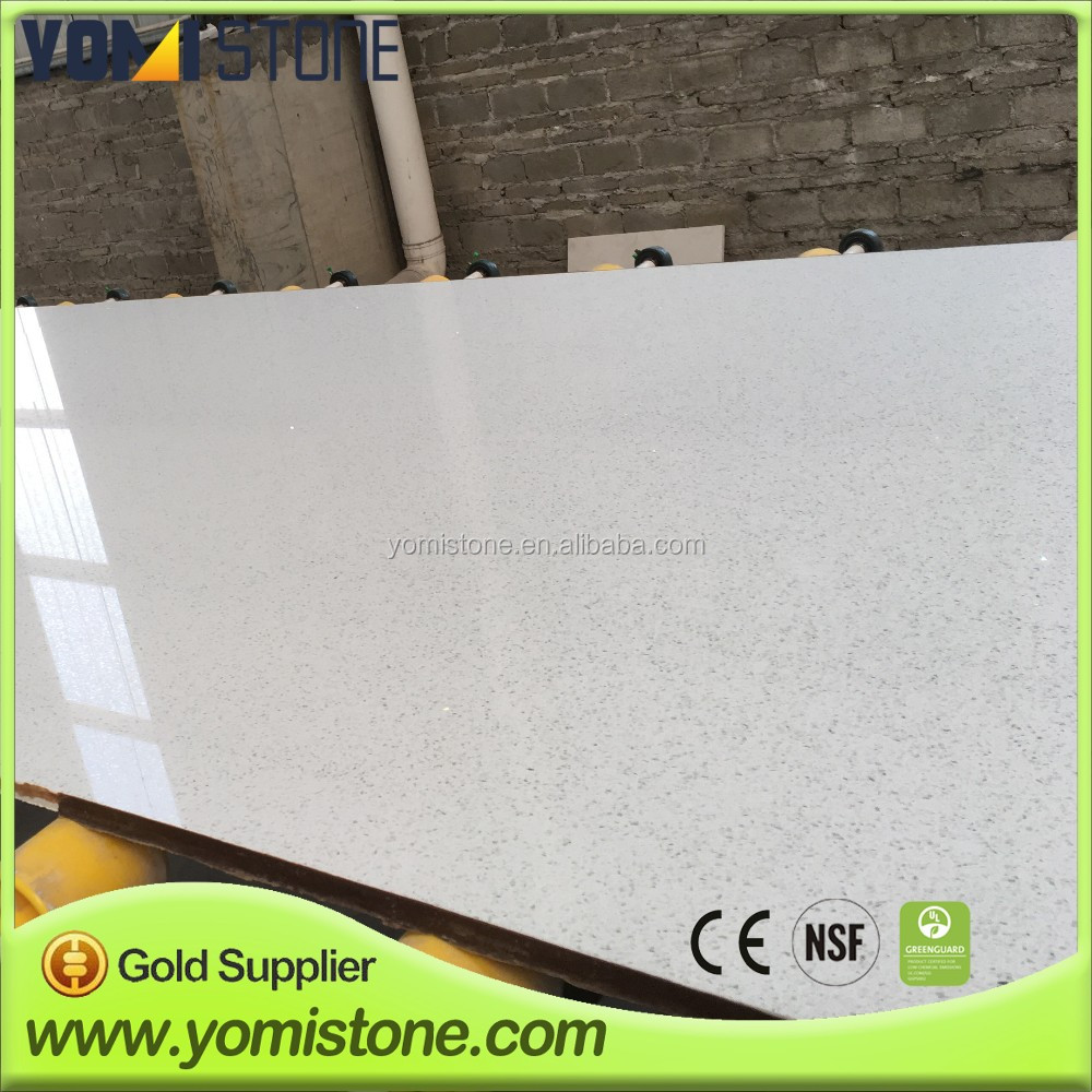 Epoxy Resin Quartz Kitchen Countertop