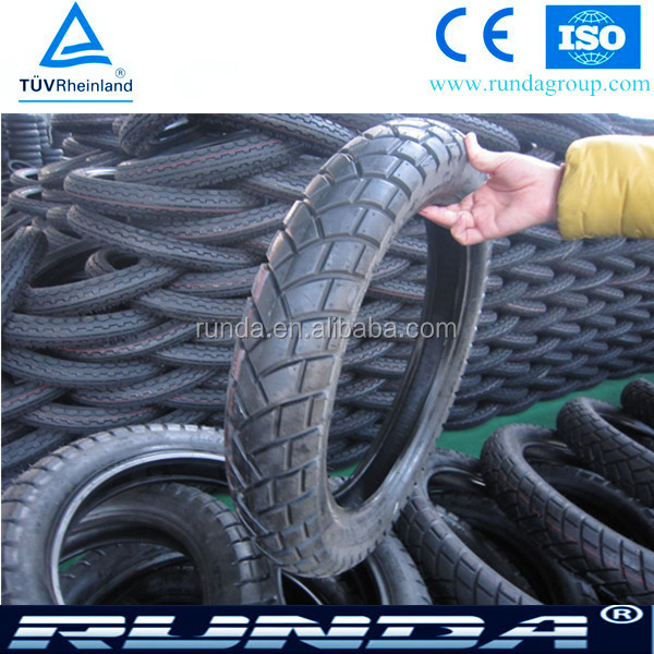 China manufacturer high quality motorcycle tire 90/90-17