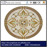 Round mosaic polished Marble Medallion Table Top