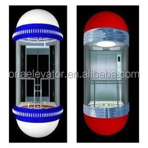 Full view Observation glass elevator/china residential elevator