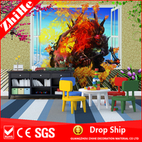 wholesale dropshipping decoration home price 3d wall wallpaper import mosaic mural children 3d wallpaper paste 4d bedroom wall