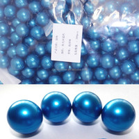 Wholesale 3.9g Blue Pearl Round-shaped Bath Oil Bath Beads Jasmine Fragrance Coconut Oil 100pcs/lot