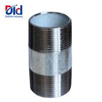 Y Shaped Pipe Fitting Line Kind Of Name And Image Garden Water Supplier Bsp Galvanized Equal Nipple