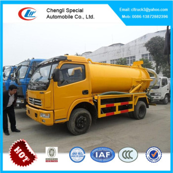 6CBM sewage suction truck