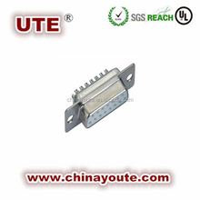 15 Pin DB D-SUB Female Solder Connector