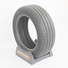 plastic single car tire display stand tyre holder tyre <strong>shelf</strong>