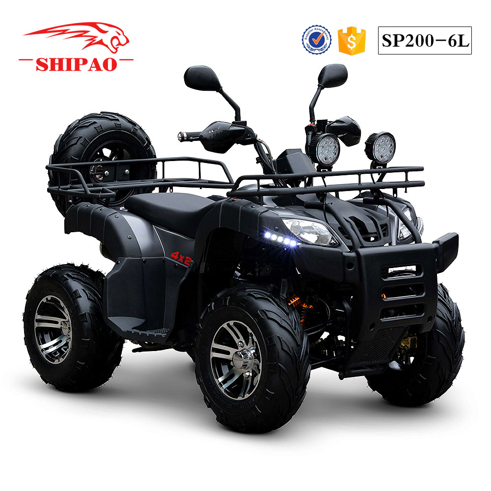 SP200-6L Shipao lie fallow road legal off road quad for sale