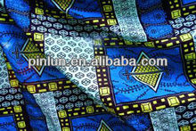 100% polyester african printed fabric made in china