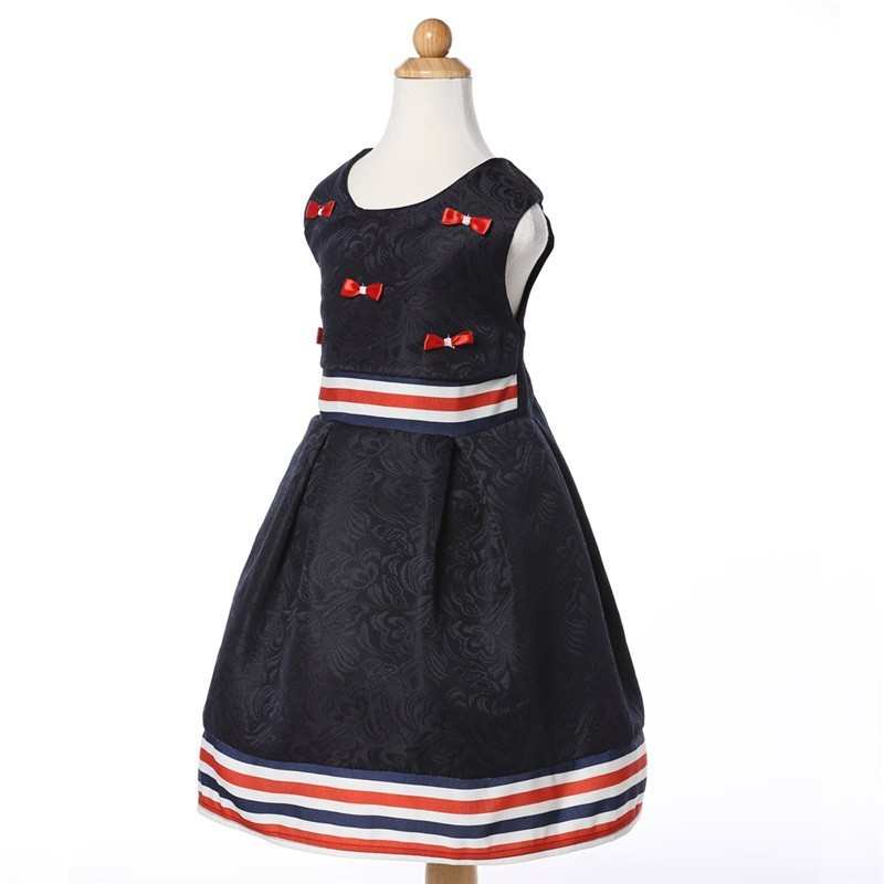 Bulk Wholesale Kids Embroidered Fancy Clothing China Wholesale Classic Girl Frilly Dress