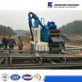 hydrocyclone desander, mud slurry collecting device