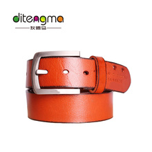 Wholesale 100 % Genuine Leather Buckle Safety Belt Man For Wholesale In Guangzhou