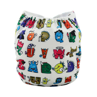 Hot sale baby cloth diaper in alibaba with cute picture