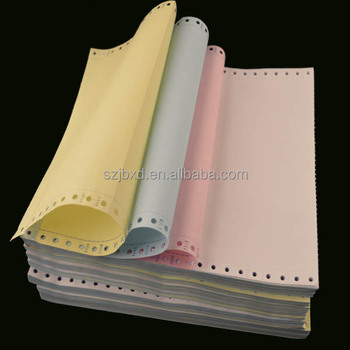 "8 1/2"" x 12"" Continuous Paper Form Continuous Paper in Sheets"