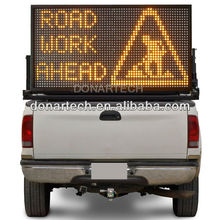 Truck mounted Full matrix message VMS board sign
