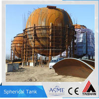 Customized Small MOQ Spherical Lined Storage Tank