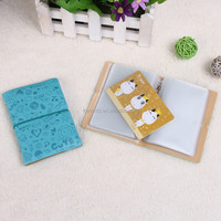 Custom PU Card Holder with Full Color Printing cheap design