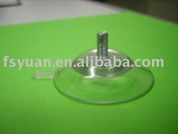 Suction cup with screw
