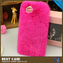3D Rabbit Fur Phone Case Cover For mobile phones, Luxury Fluffy Case for Samsung Galaxy s3 i9300