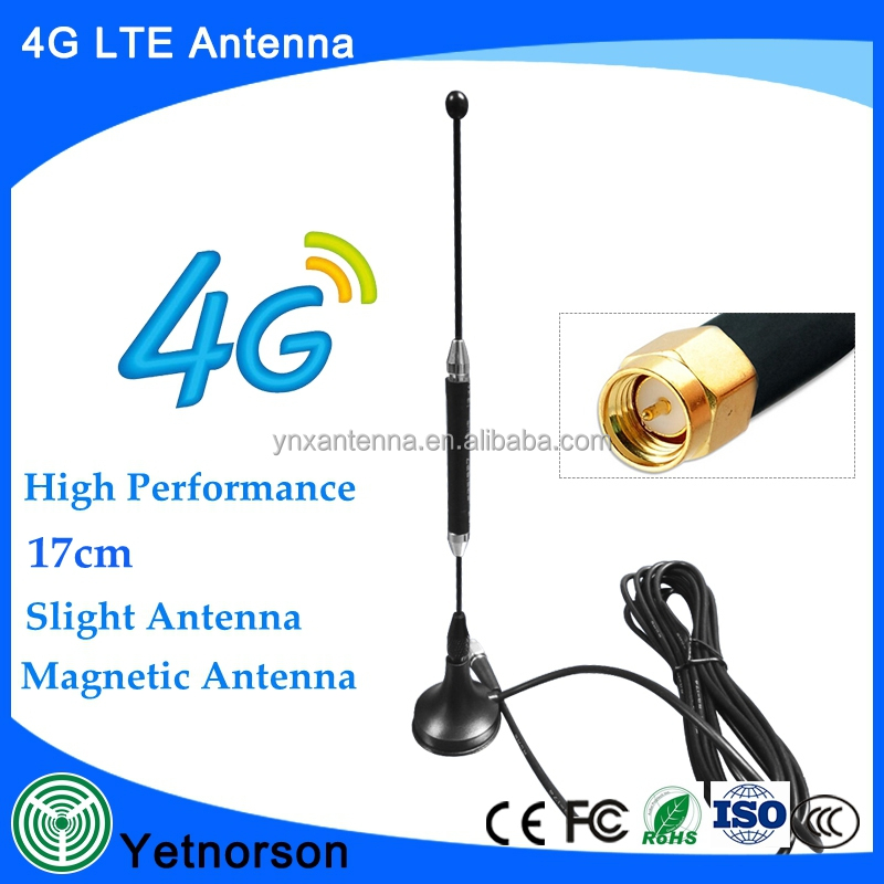 Hot sell slight car mini antenna 600-2700mhz wifi gsm 3g 4g lte usb dongle antenna
