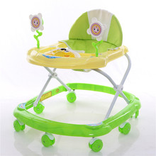 Panda cartoon lovely design fancy baby walker from Pingxiang China