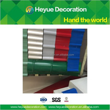 High quality color steel plate material 0.7 mm thick aluminum zinc roofing sheet