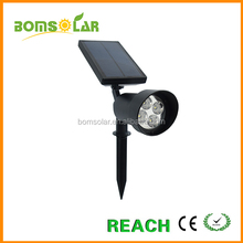 New launched patented 2W 200lm outdoor LED solar spot light