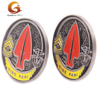 High quality custom 3D double sides metal souvenir challenge award antiqu coin